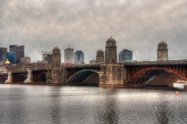 Overcast on the Longfellow - Boston