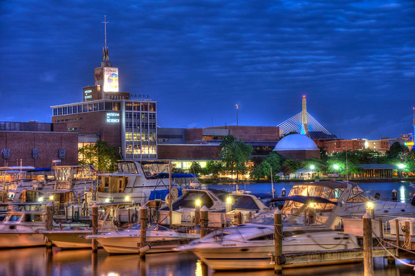 Blue Hour on the Charles River - Boston