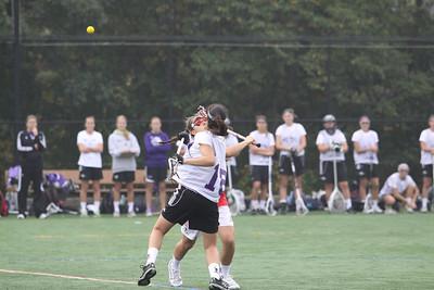 Boston University Lacrosse- Fall Ball 2012
