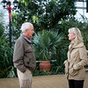 Botanical Garden of Georgia director Jennifer Cruse-Sanders tours and talks with Georgia Agriculture Commissioner Gary Black