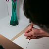 Olivia Carlisle teaches scientific illustration class at Botanical Garden