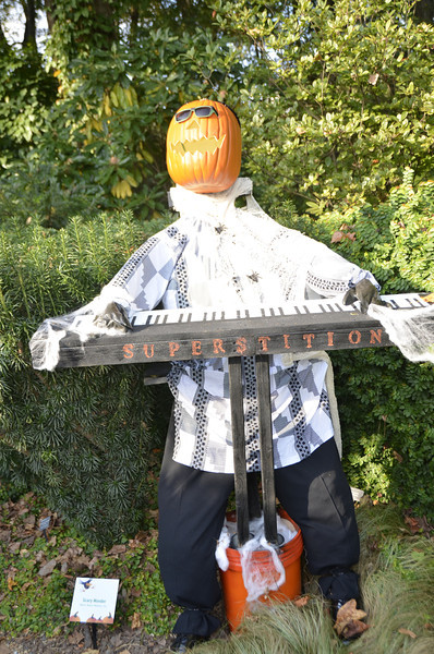 Stevie Wonder Scarecrow