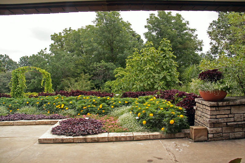 Butterfly Festival   Powell Gardens August,  2014<br /> <br /> Courtyard off the Cafe Thyme