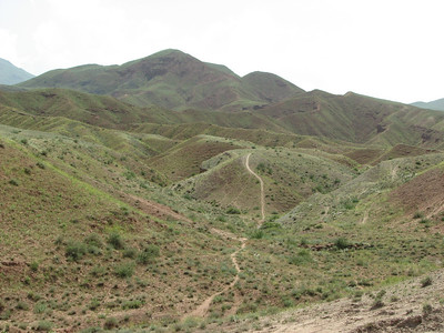(Sendan mountains, near Gilavan, W of Sefid Rud Reservoir, Qazvin Province)