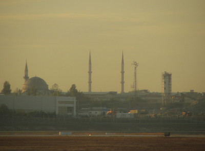 Istanbul, photographed from the Airport