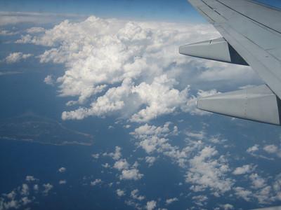 Flight to Athens