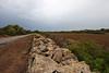 Old wall, north of Cap de ses Salines