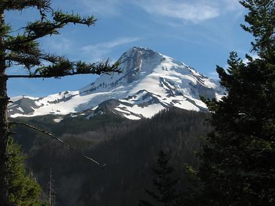 Northface of Mount Baker, Oregon