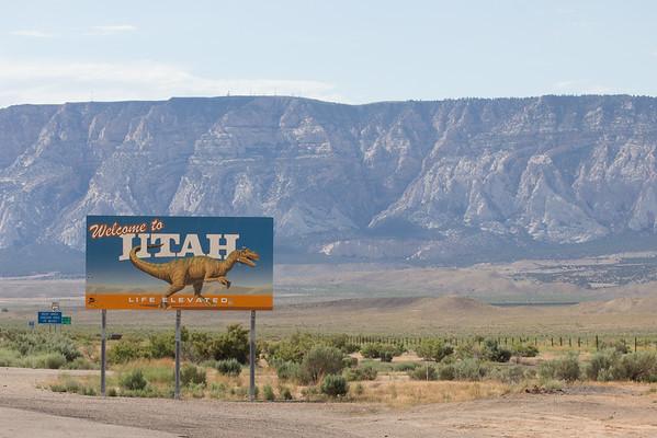 Utah and adjacent areas