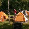 Campsite at El Bolsón (photograph by Kok van Herk)