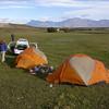 Campsite along the Rio Vizcachas (photograph by Kok van Herk)
