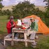 Campsite in PN Torres del Paine (photograph by Kok van Herk)