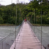 Suspension bridge over Rio Grey (photograph by Kok van Herk)