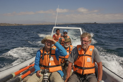 On our way to Isla Reserva Nacional Pinguino de Humboldt (Photograph by Marijn van den Brink)