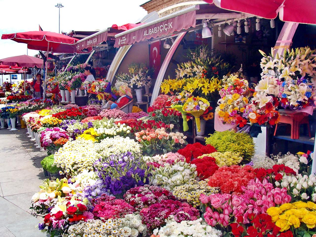 Istanbul Flower Market