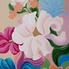"""Summer Symphony"" (acrylic on canvas) by Irene Hurdle"