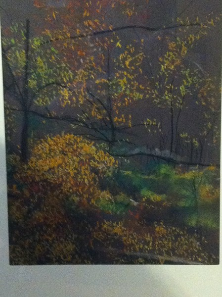 """Autumn In New York"" (pastel) by Terry Berkowitz"