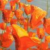 """Reach for the sky"" (acrylic) by Catherine Sexton"