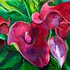 """Floritilia"" (acrylic) by Elsa O'Reilly"