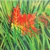 """""""Fallen"""" (acrylic) by Vasu Tolia"""
