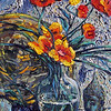 """Meditative Still Life"" (oil on canvas) by Eugene Kuperman"