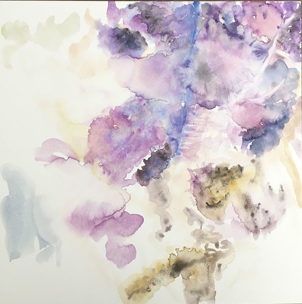 """""""Hover"""" (watercolor on aquaboard) by Charlene Moy"""
