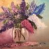 """""""Lilac"""" (oil) by Marina Zurkanaeva"""