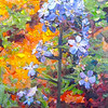 """Forget-me-not"" (glass) by John Sollinger"