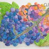"""Luscious Grapes"" (watercolor) by Susan Heed-Myers"