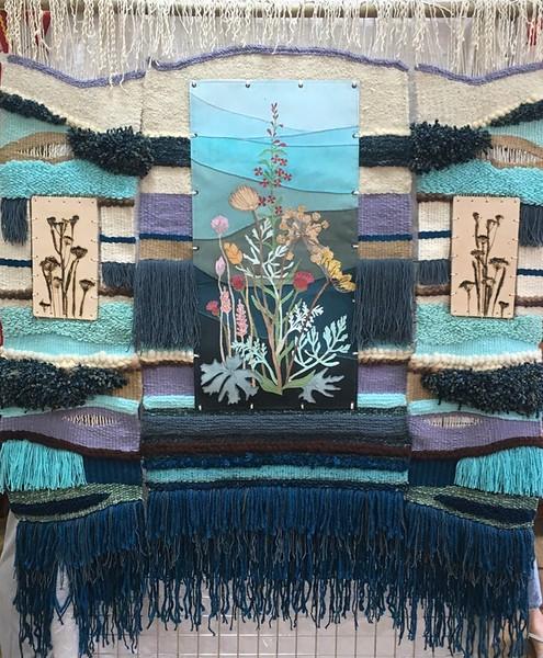 """""""Summer morning"""" (tapestry) by Anna Bortnikov"""
