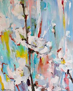 """Awakening"" (oil on canvas) by Yuliia Meniailova"