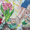 """Time To Plant"" (acrylic) by Monik Robichaud"