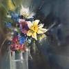 """""""Spring in my soul"""" (watercolor) by Evgeniya Kostikova"""