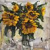 """Sunflower"" (oil) by Shuliang Xia"