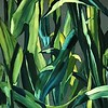 """Corn's green"" (oil) by Evgeny Yastrebov"