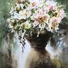 """Silent season"" (watercolor) by Yun Hu"