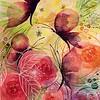 """""""Summer guests"""" (watercolor) by Alfia Ishkaeva"""