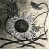 """""""Sunflower No.2"""" (Chinese ink on paper) by Kui Luo"""