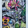 """Astroemeria"" (watercolor and acrylic) by Oksana Lopokha"