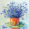 """""""Summer Bouquet"""" (oil) by Kateryna Ivonina"""