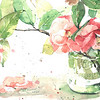 """Camellia in a Jar"" (watercolor) by Gloria Tseng Fischer"