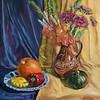 """""""Autumn mood"""" (oil) by Elena Ushanova"""
