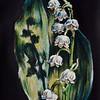 """Convallaria"" (gouache) by Anastasia Volosatova"