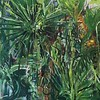 """Jungle Jungle"" (acrylic and egg tempera on paper) by Gay Cox"