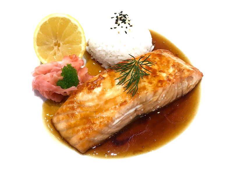 "Salmon ""Teriyaki"""