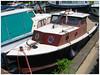 Oud bootje, haventje Zwartewaal
