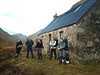 The gang outside Pean Bothy