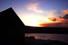 Sunrise on New Year`s Day at a Perthshire bothy.