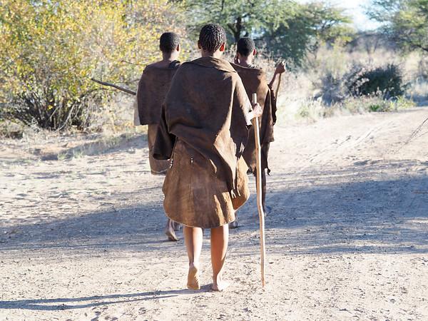 Kalahari Bushmen Botswans
