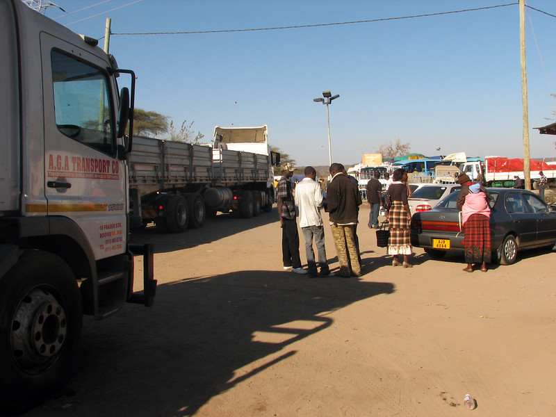 Zambia border post